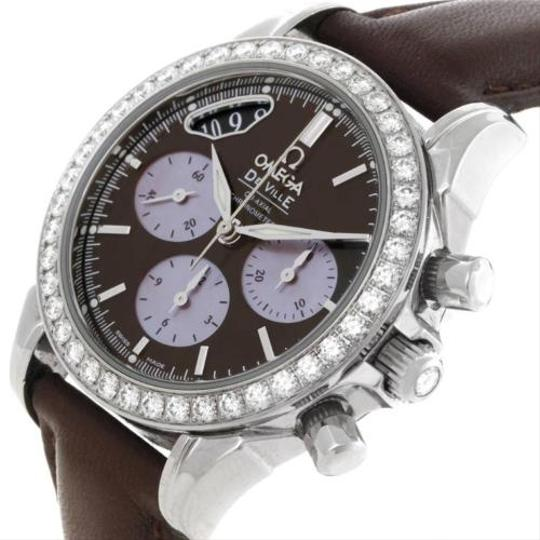 Omega Omega Deville Co-axial 1.61ct Diamond Ladies Watch 4877.60.37