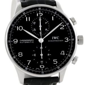 IWC IWC Portuguese Chrono Automatic Steel Mens Watch IW371438