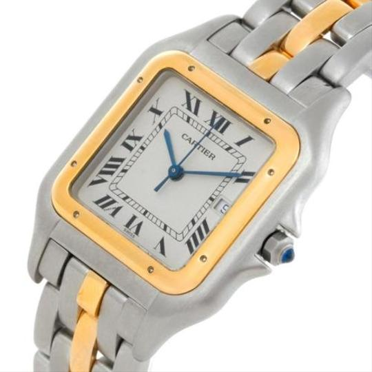 Cartier Cartier Panthere Jumbo Steel 18k Yellow Gold One Row Watch