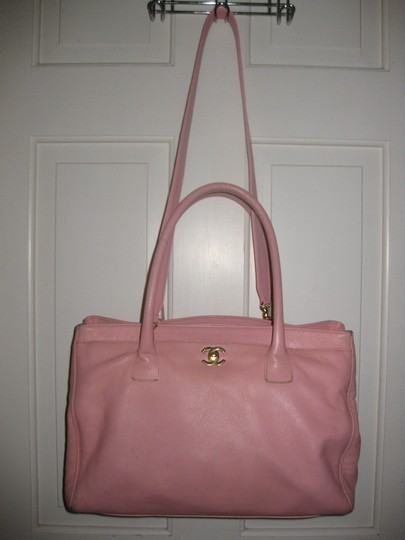 Chanel Cerf Executive Tote in pink