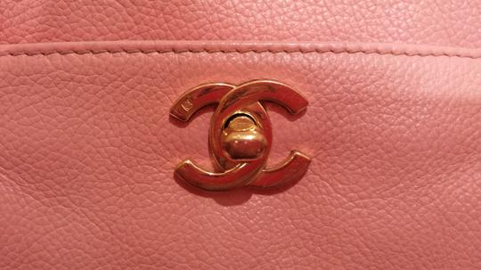 Chanel Cerf Executive Gst Tote in pink