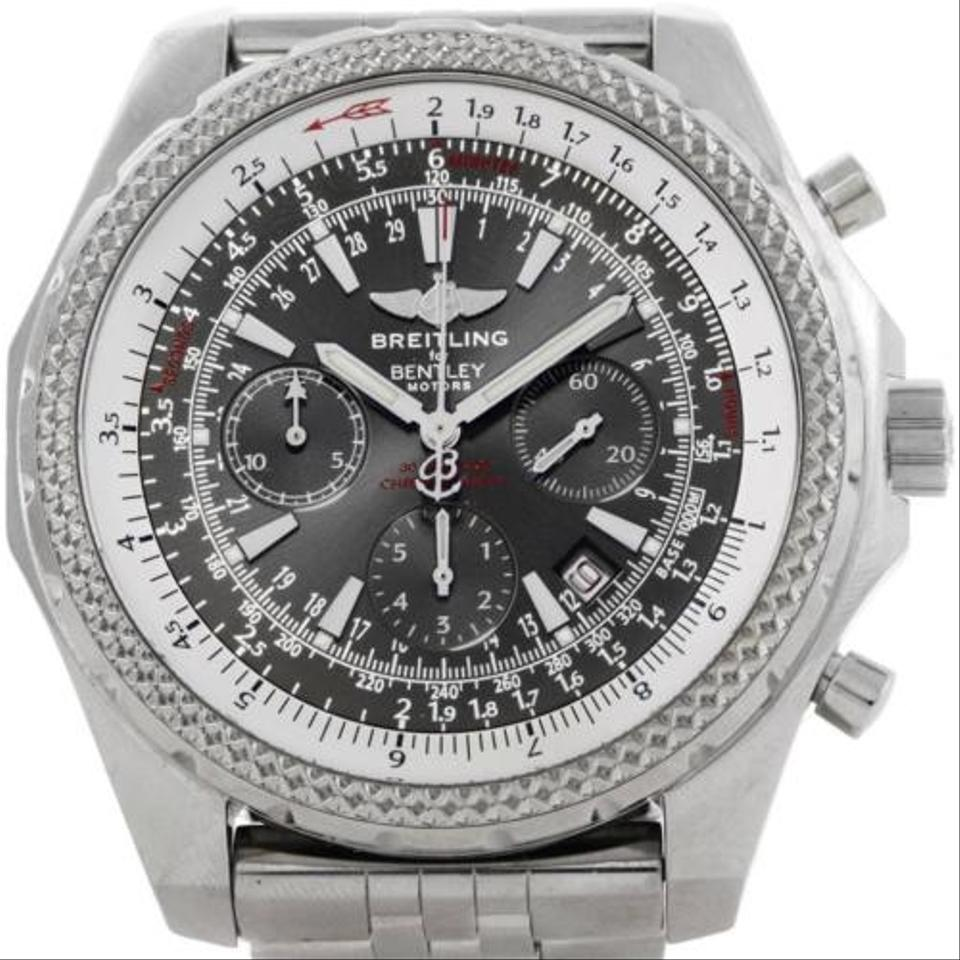 bentley large chronograph breitling sales motors store display automatic vintage