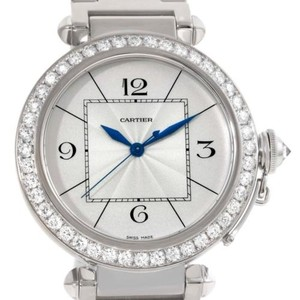 Cartier Cartier Pasha 42mm 18k White Gold Diamond Watch Wj1202m9