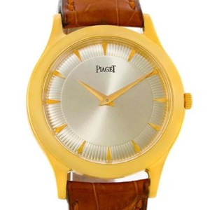 Piaget Piaget 18k Yellow Gold Mechanical Limited Edition Mens Watch 91000