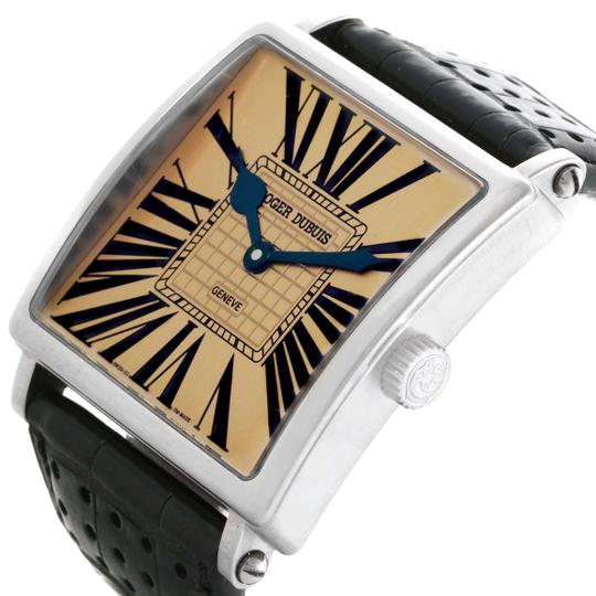 Roger Dubuis Roger Dubuis Golden Square 18k White Gold Watch 0528
