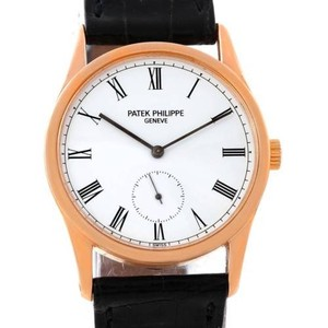 Patek Philippe Patek Philippe Calatrava 18k Rose Gold Watch 3796R