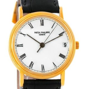Patek Philippe Patek Philippe Calatrava 18k Yellow Gold Watch 3802