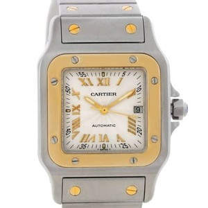 Cartier Cartier Santos Galbee Steel 18k Yellow Gold Watch W20058c4