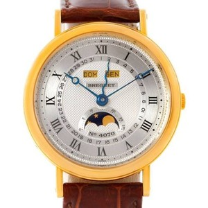 Breguet Breguet Serpentine 18k Yellow Gold Moon Phase Watch 3040