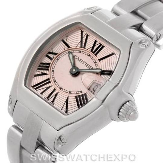 Cartier Cartier Roadster Ladies Pink Dial Watch W62017V3