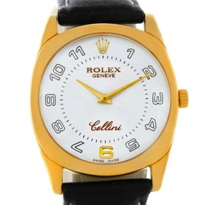 Rolex Rolex Cellini Danaos 18k Yellow Gold Mens Watch 4233