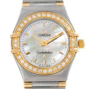Omega Omega Constellation Mini Steel And Gold Diamond Watch