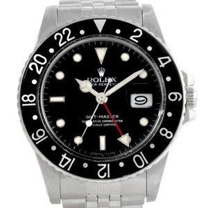 Rolex Rolex Gmt Master Vintage Stainless Steel Mens Watch 16750