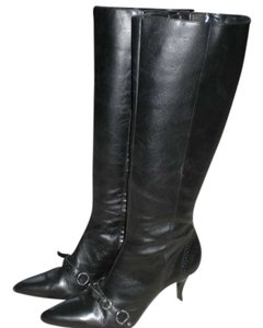 Audrey Brooke Leather black Boots