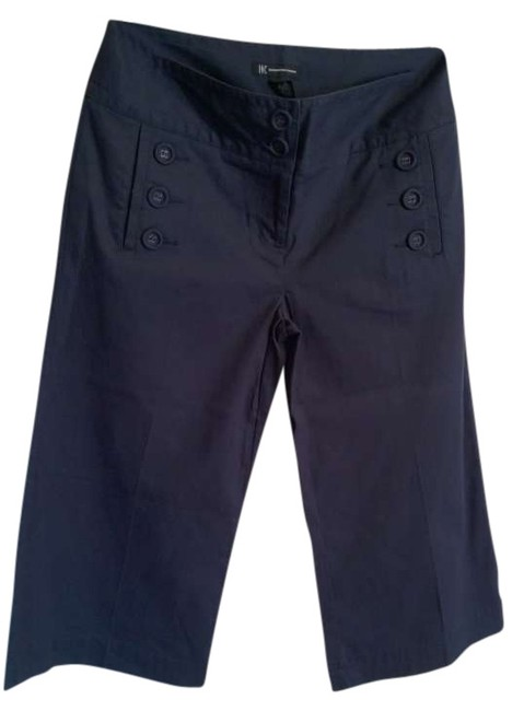 INC International Concepts Capris navy blue