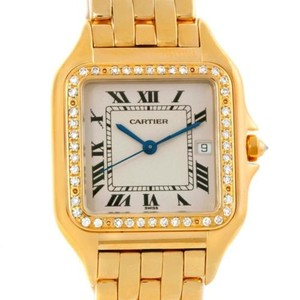 Cartier Cartier Panthere Jumbo 18k Yellow Gold Diamond Watch