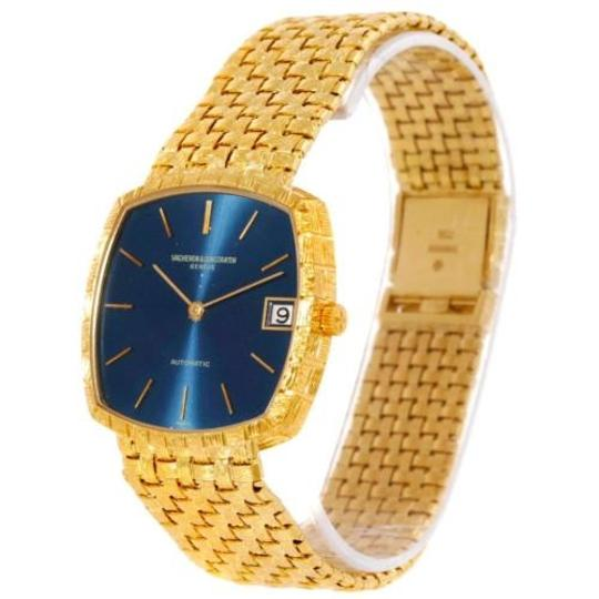 Vacheron Constantin Vacheron Constantin Automatic 18k Yellow Gold Blue Dial Watch 7391