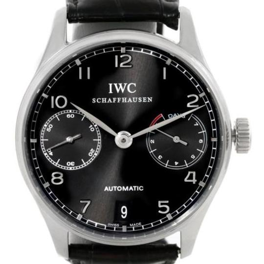 Preload https://item5.tradesy.com/images/iwc-black-portuguese-chrono-day-power-reserve-iw500109-watch-3457099-0-0.jpg?width=440&height=440