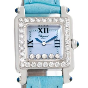 Chopard Chopard Happy Sport Blue Mother Of Pearl Diamond Watch 278894-2311