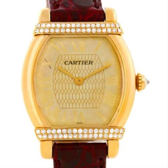 Preload https://item2.tradesy.com/images/cartier-cartier-tortue-chinoise-ladies-18k-yellow-gold-diamond-watch-3457246-0-0.jpg?width=440&height=440