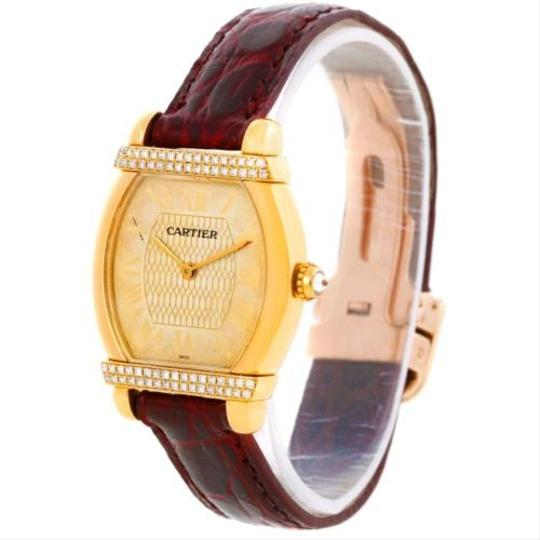 Cartier Cartier Tortue Chinoise Ladies 18k Yellow Gold Diamond Watch