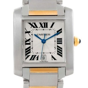 Cartier Cartier Tank Francaise Steel 18k Yellow Gold Watch W51005q4