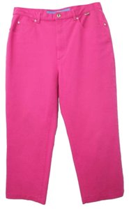 Escada Sport Stretch Jeans 42 Straight Pants DARK PINK