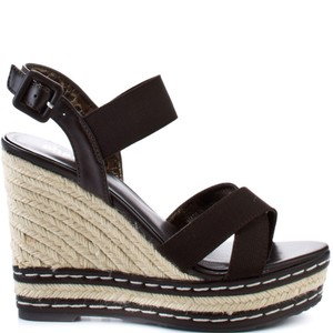 Charles by Charles David Chocolate Brown Wedges