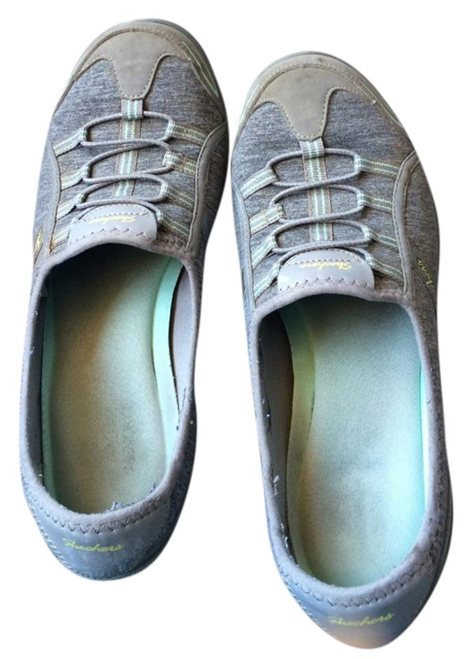 Skechers Gray Women's Relaxed Fit: Breathe Easy Good Life Slip on Sneakers Size US 9 Regular (M, B)