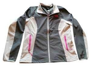 The North Face Dark gray, light gray, pink Jacket
