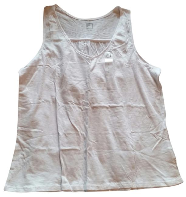 Preload https://item3.tradesy.com/images/jcpenney-tank-top-white-3459412-0-0.jpg?width=400&height=650