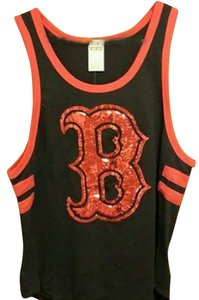 PINK Baseball Boston Sox Bling Top Blue, red