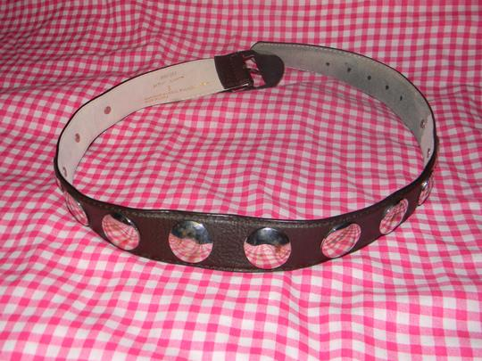 Betsey Johnson Betsey Johnson Brown Belt with Studs