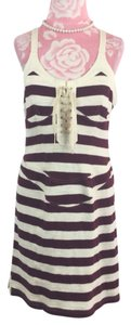 Isabel Marant short dress Red/white on Tradesy