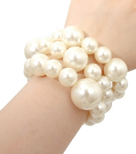 Other GLAM-IT-UP! BOLD PEARL BRACELET SET (3 PIECE SET)