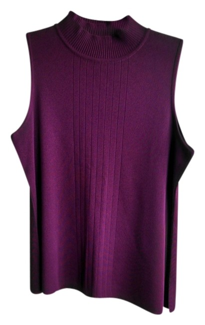 Preload https://item1.tradesy.com/images/misook-maroon-exclusively-tank-topcami-size-8-m-3459820-0-0.jpg?width=400&height=650