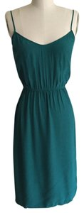 Twelfth St. by Cynthia Vincent short dress turquoise on Tradesy
