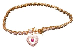 Other Sterling heart charm bracelet