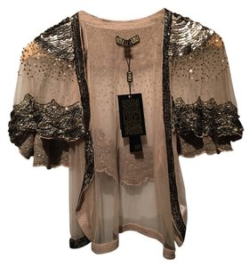 Biba Vintage Beaded Gatsby Formal Evening Cardigan