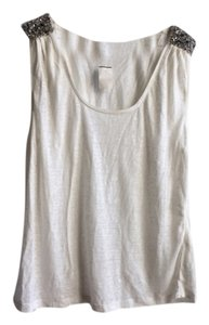 Joie Top white and sequence