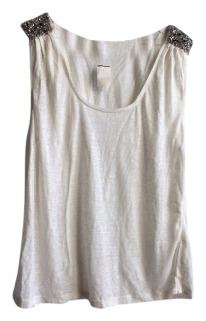 Preload https://img-static.tradesy.com/item/3460423/joie-white-and-sequence-tank-topcami-size-12-l-0-0-650-650.jpg