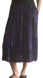 Skirt purple black