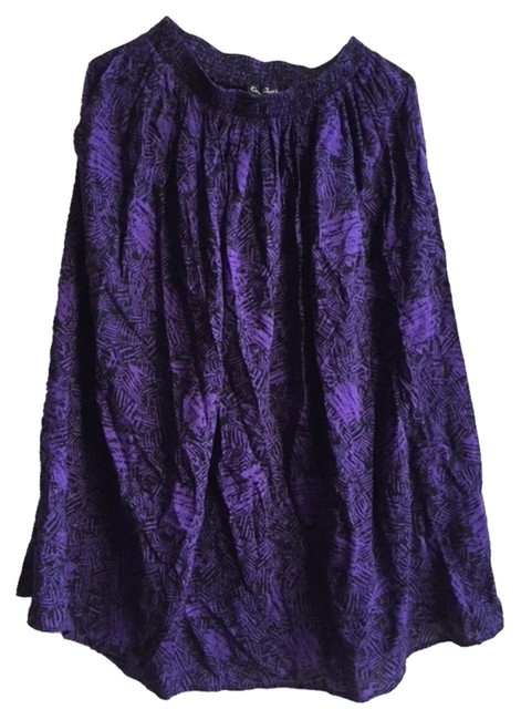 Other Skirt purple black