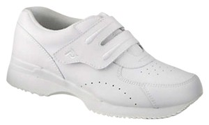 Propet Orthotic Friendly Diabetic Friendly Leather Leightweight Comfort White Athletic