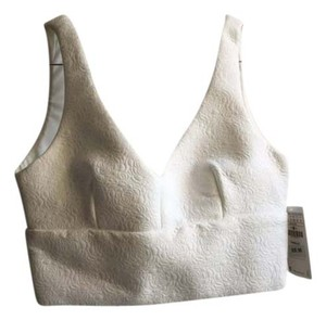 Zara white Halter Top