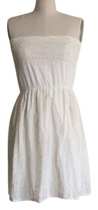 Zara short dress beige off white on Tradesy