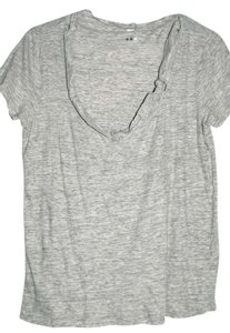 Three Dots T Shirt Grey