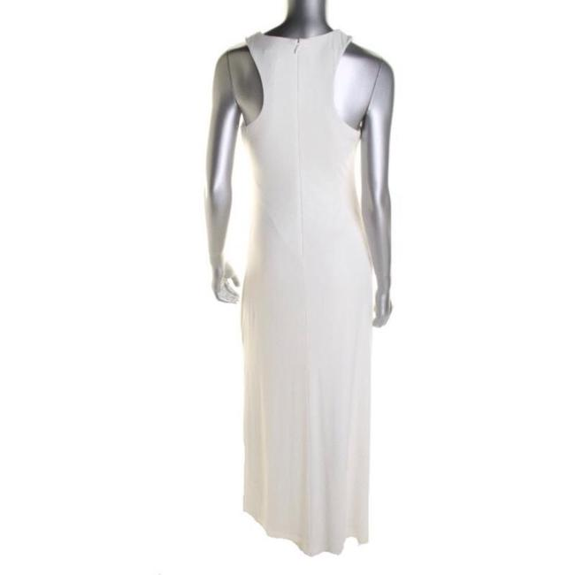 White Maxi Dress by Laundry by Shelli Segal Image 1