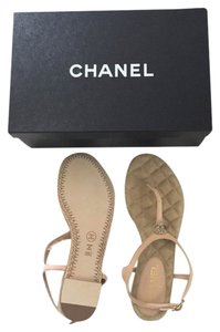 Chanel Light Pink Sandals