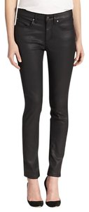 Eileen Fisher Leather Skinny Jeans-Coated